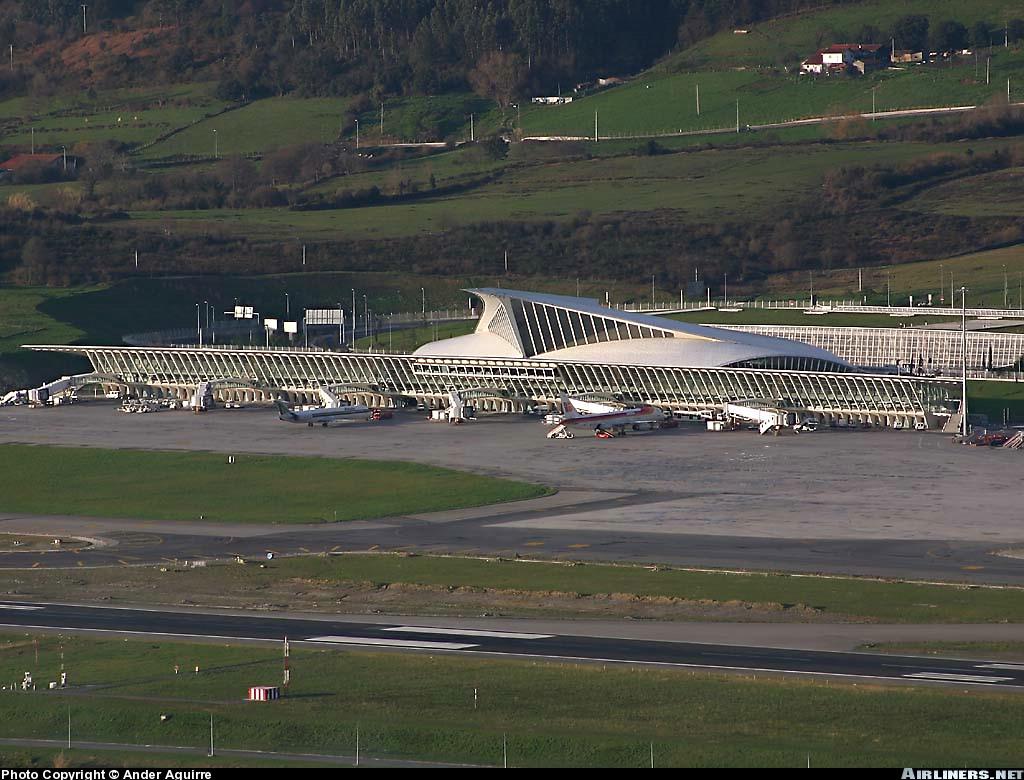 Aeroporto Bilbao : Aeropuerto de bilbao megaconstrucciones extreme engineering