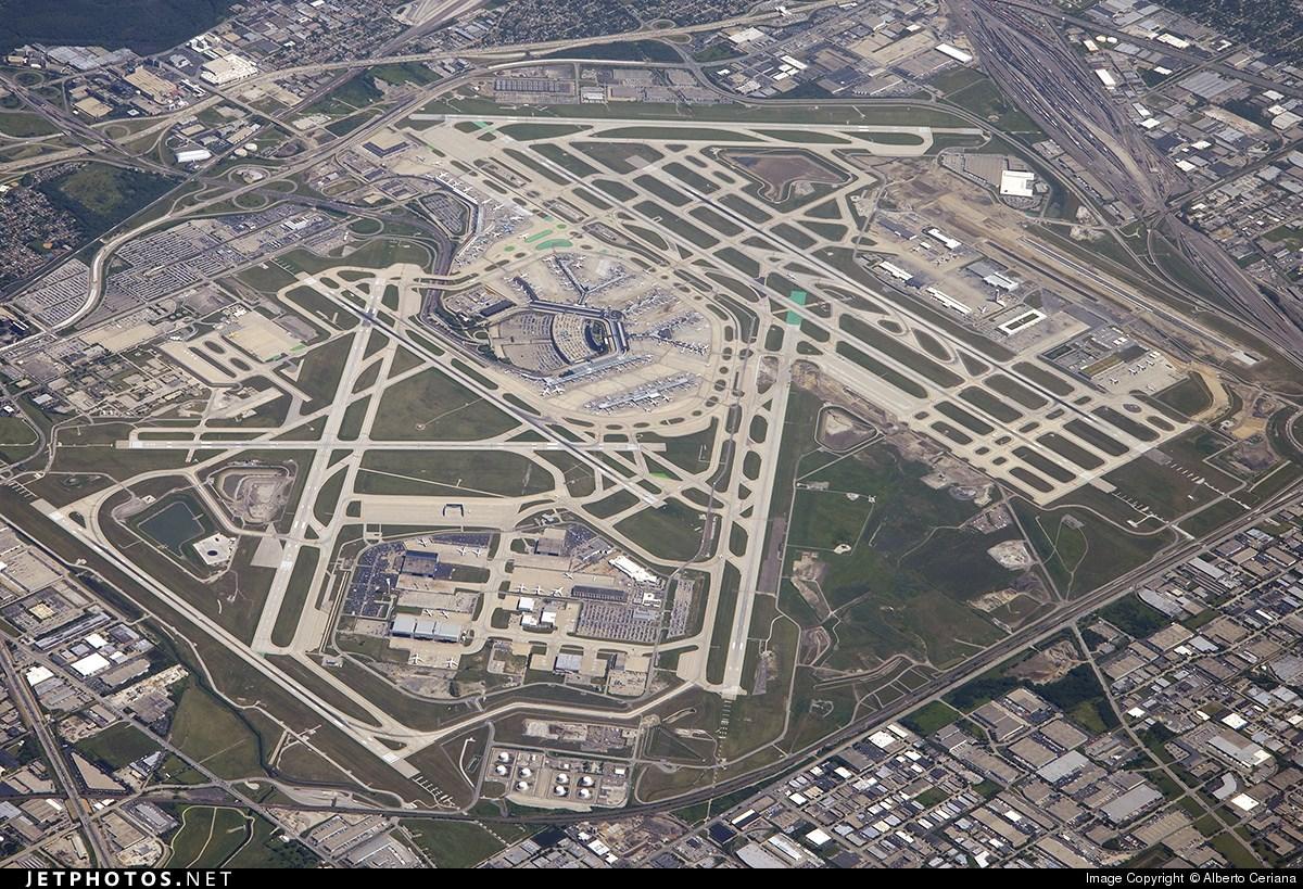 Aeropuerto Chicago O Hare Megaconstrucciones Extreme