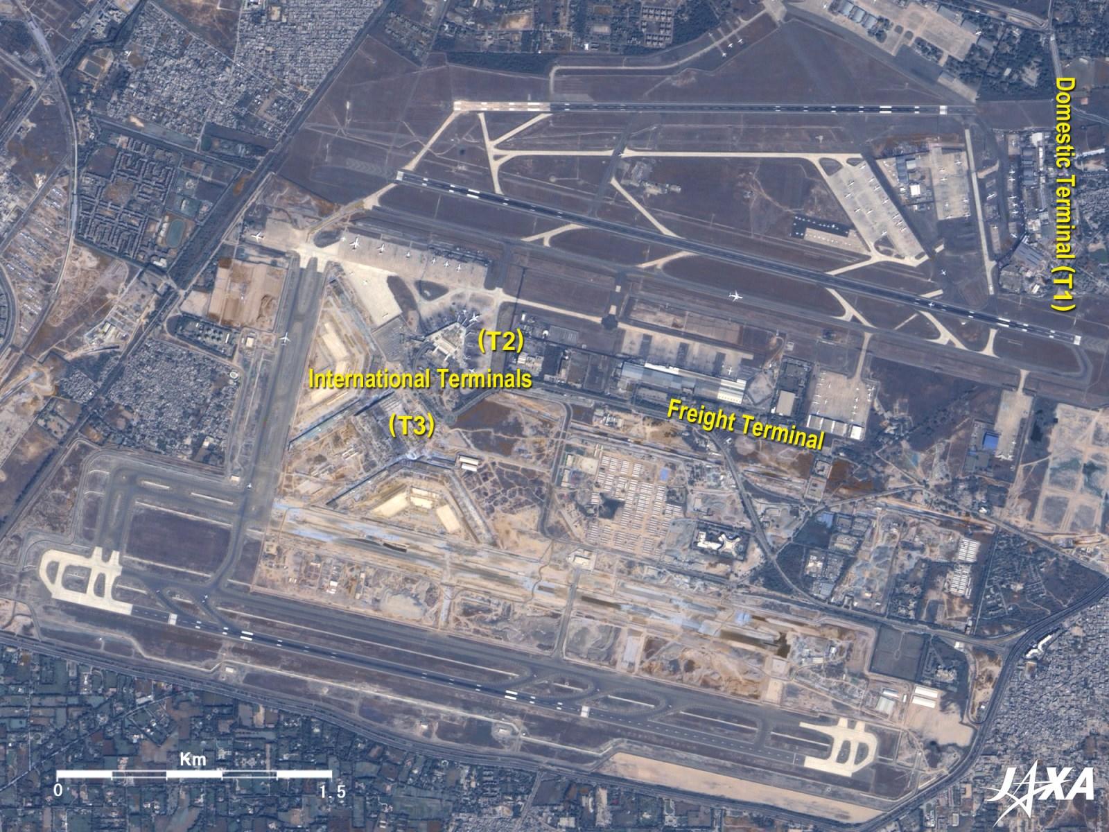 aeropuerto indira gandhi