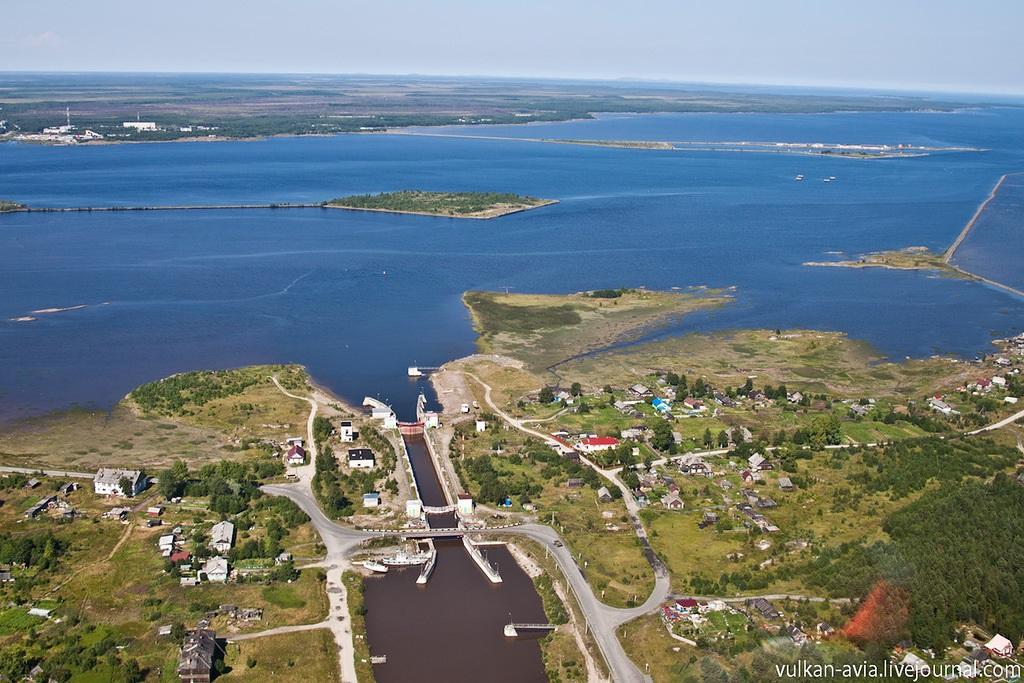 Canal mar blanco baltico