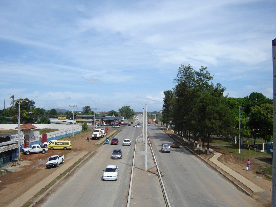 Santiago de Veraguas Panamá Carretera Panamericana 6