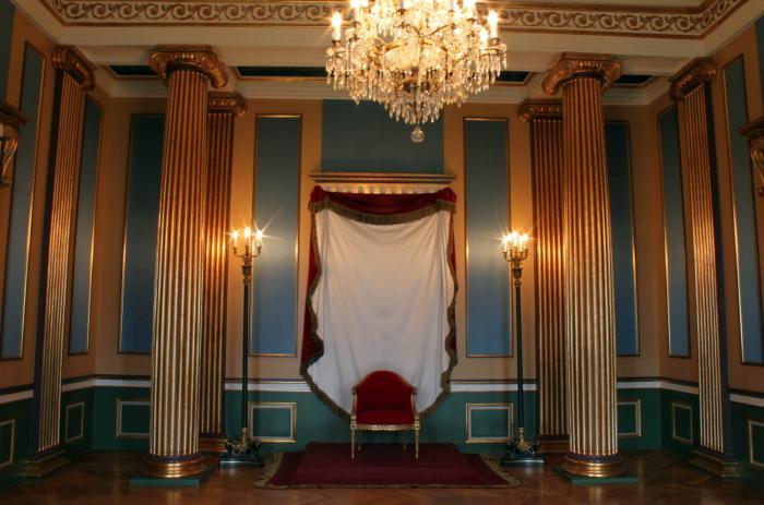 Trono. Palacio de Amalienborg 10