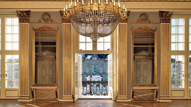 Salón de los caballeros. Palacio de Amalienborg 11