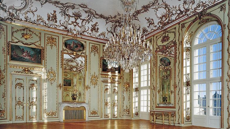 Salón de baile barroco. Palacio de Amalienborg 12