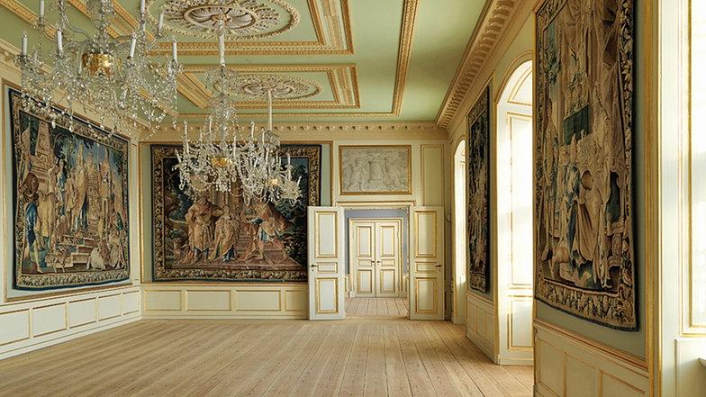 Salón del Jardín de Invierno. Palacio de Amalienborg 17