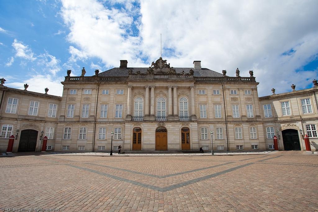 Palacio de Cristián VII o Palacio Moltke. Palacio de Amalienborg 4