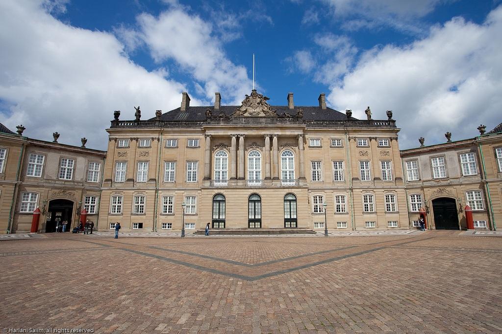 Palacio de Cristián VIII o Palacio Levetzau. Palacio de Amalienborg 5