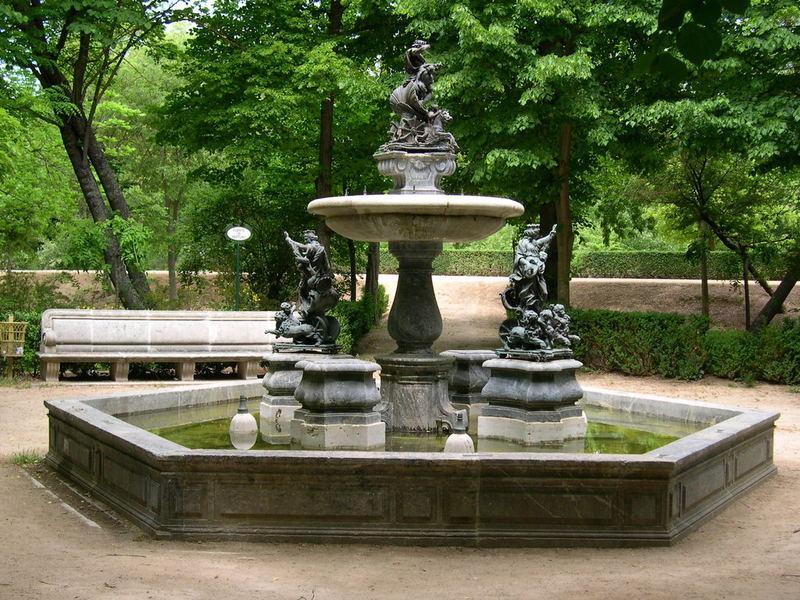 Jardín de la Isla. Fuente de Neptuno. Palacio Real de Aranjuez 11