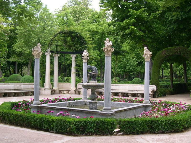 Jardín de la Isla. Fuente de las Arpías. Palacio Real de Aranjuez 12