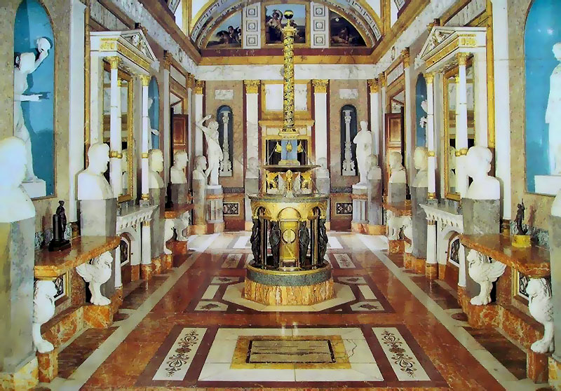 Galería escultura de la Casita. Palacio Real de Aranjuez 21