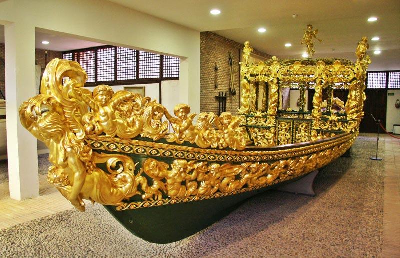 Museo de Falúas Reales. Falúa de Felipe V. Palacio Real de Aranjuez 23