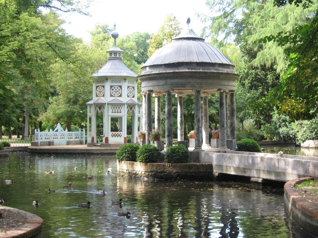 Jardín del Príncipe. Estanque de los Chinescos. Palacio Real de Aranjuez 7