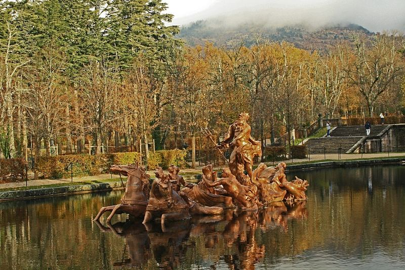 Fuente de la Selva o de Pomona. Palacio Real de La Granja de San Ildefonso 11