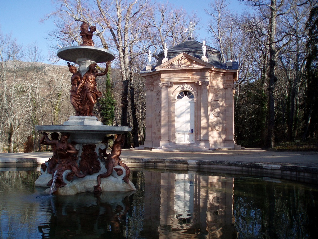 Fuente de Apolo y Minerva. Palacio Real de La Granja de San Ildefonso 15
