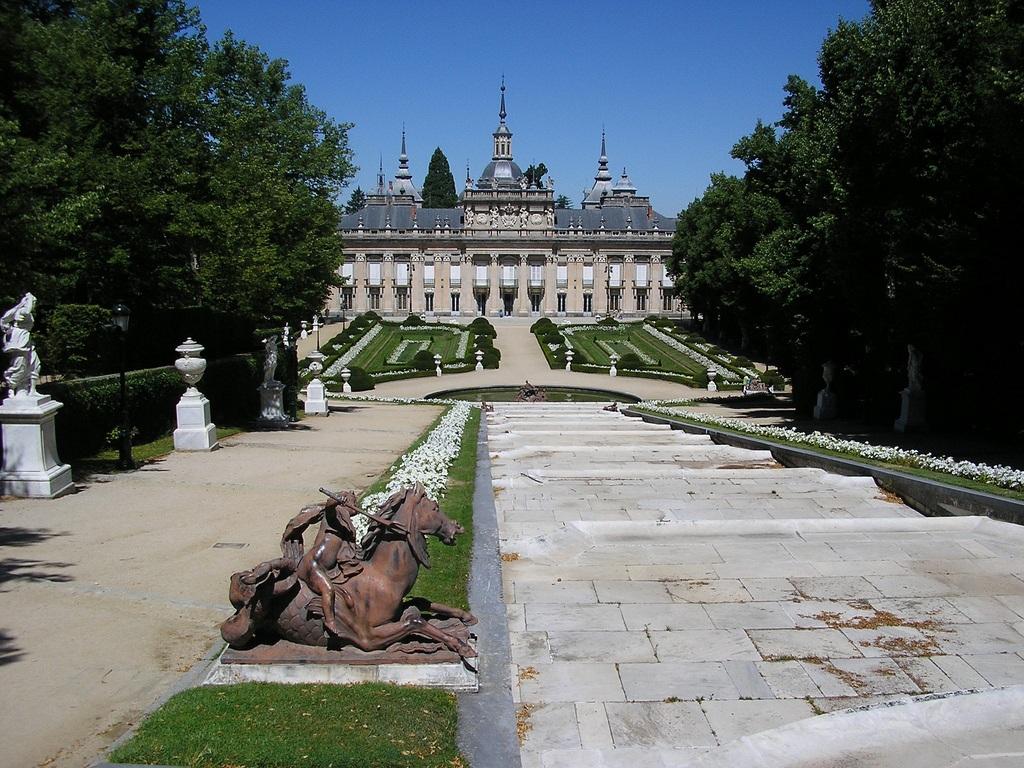 Esfinge. Palacio Real de La Granja de San Ildefonso 19