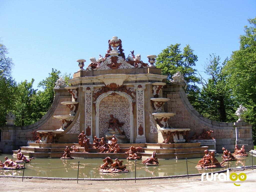 Fuente de Neptuno. Palacio Real de La Granja de San Ildefonso 9