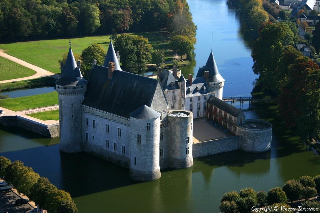 Castillo De Sully Sur Loire Chateau De Sully Sur Loire