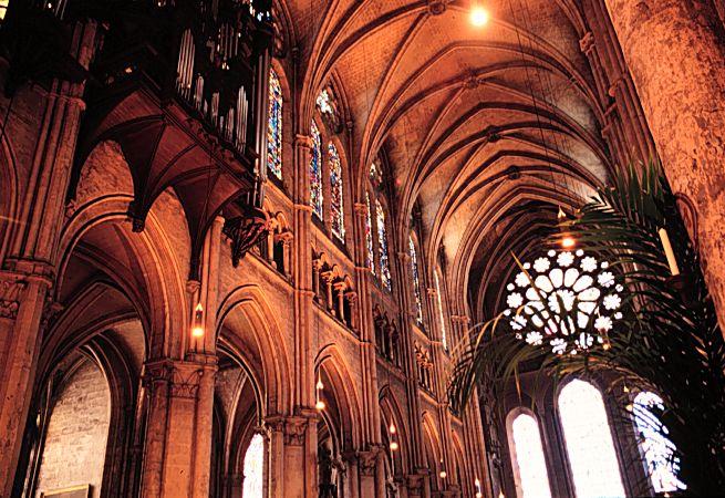Bóvedas. Catedral de Chartres 10
