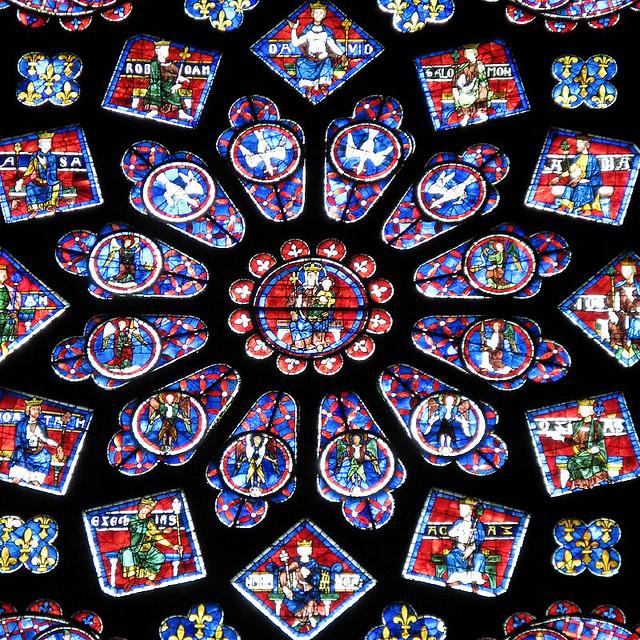 Rosetón Norte. Catedral de Chartres 20