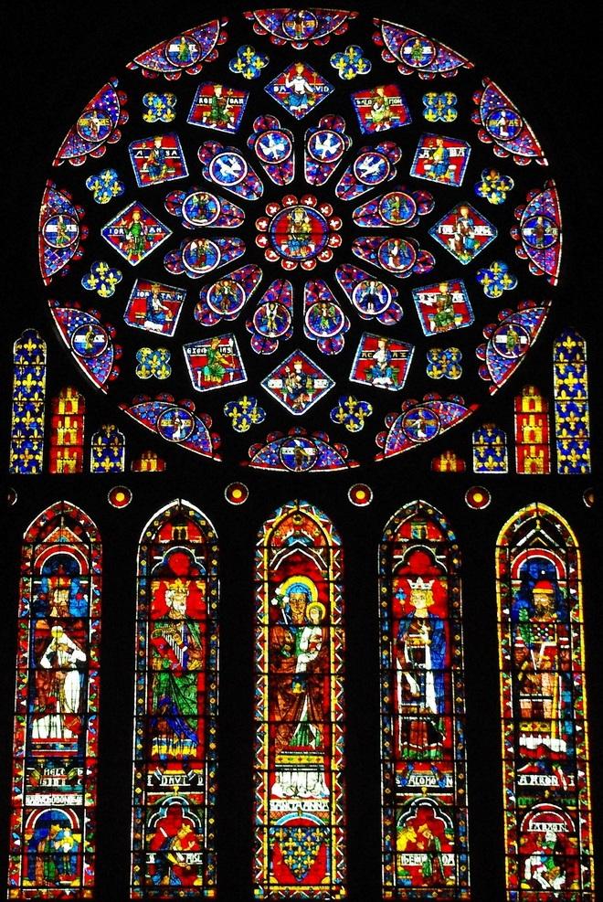 Rosetón Norte. Catedral de Chartres 21