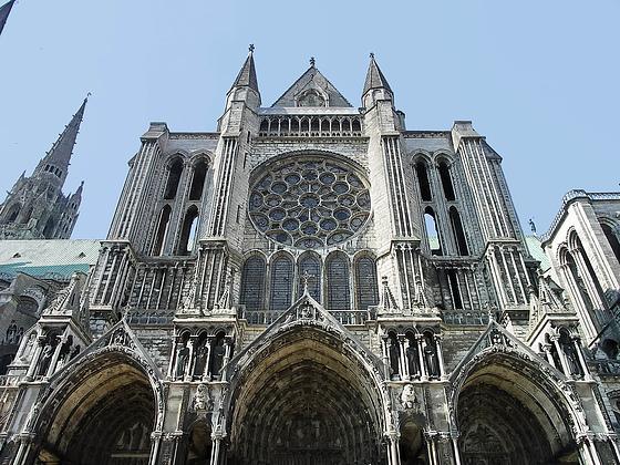 Parte Central. Catedral de Chartres 5
