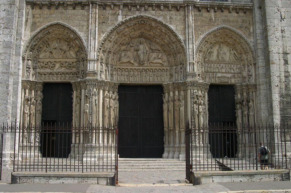 Pórtico Real. Catedral de Chartres 6