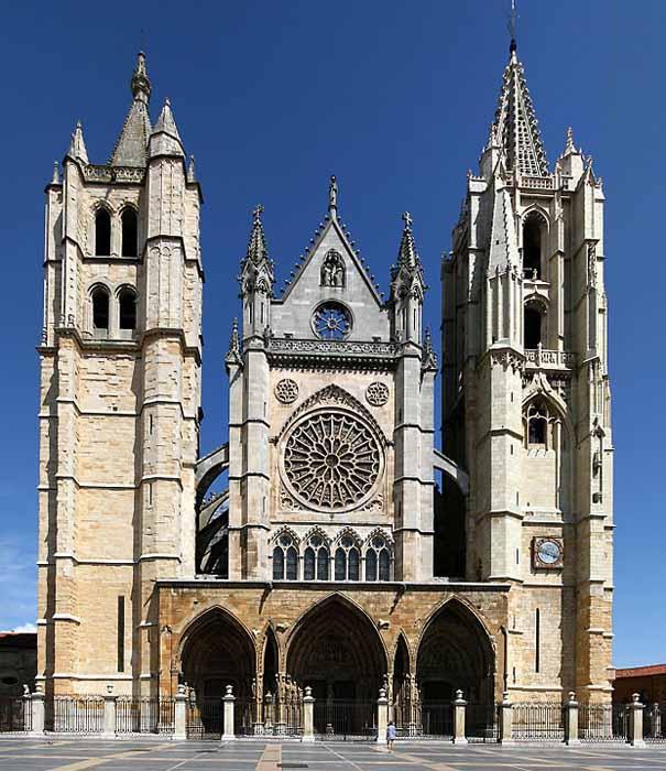 Resultado de imagen de catedral de leon