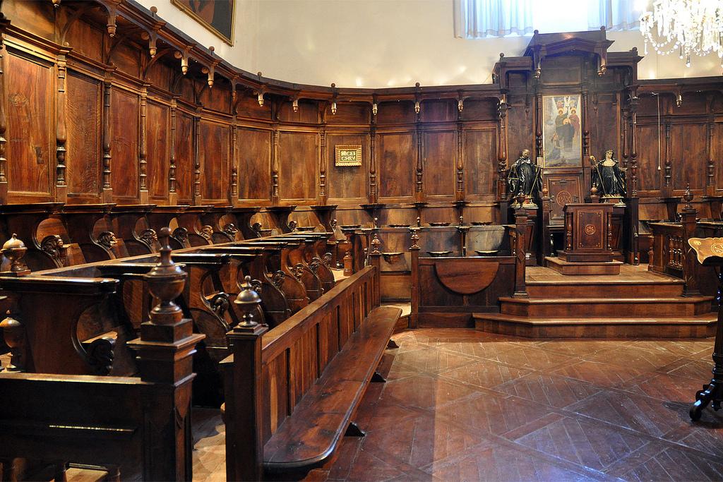 Coro. Monasterio de Santo Domingo de Silos 16