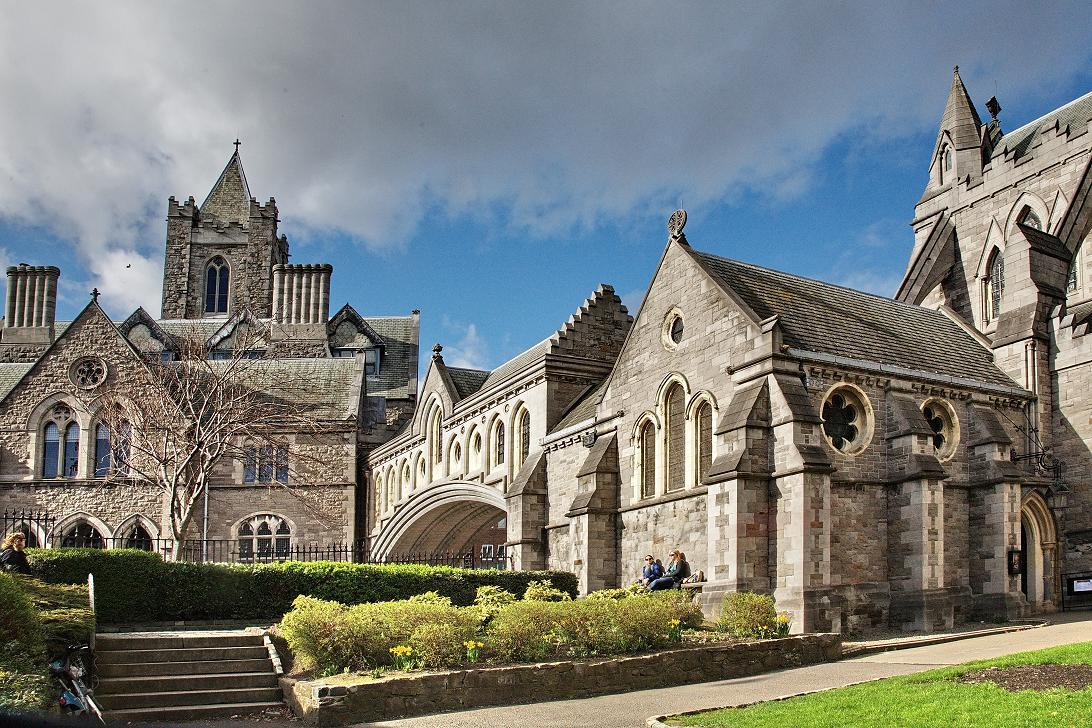 Cathedral Dublin Ireland Cathedrals in Dublin And