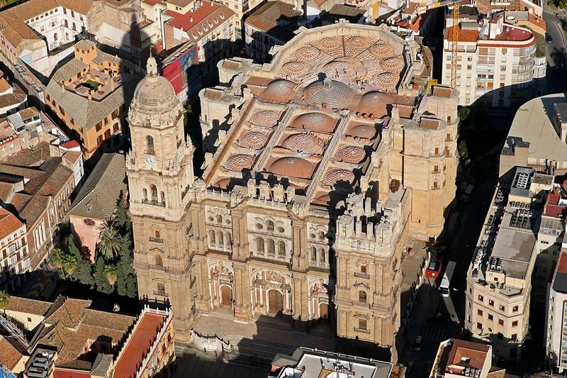 Catedral de m laga catedral de la encarnaci n de m laga - Fotografia aerea malaga ...