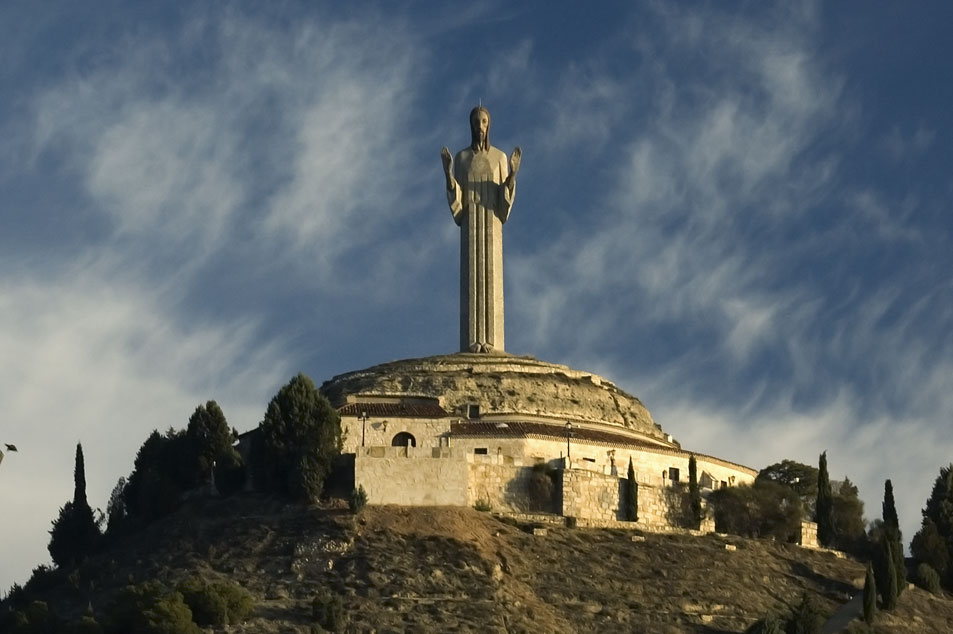Cristo del otero monumento de palencia al sagrado coraz n - Albaniles en palencia ...