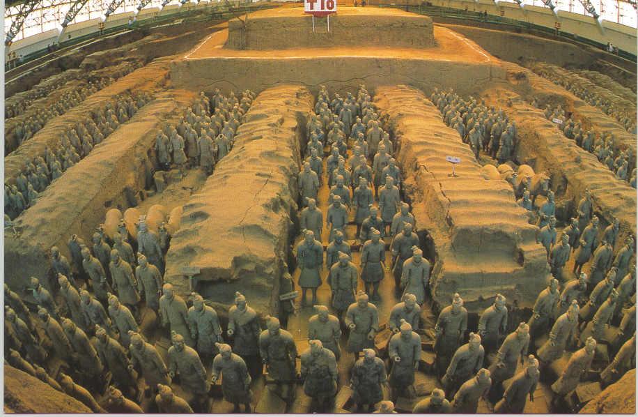 ACHAMAN GUA�OC: Guerreros de terracota de Xi'an