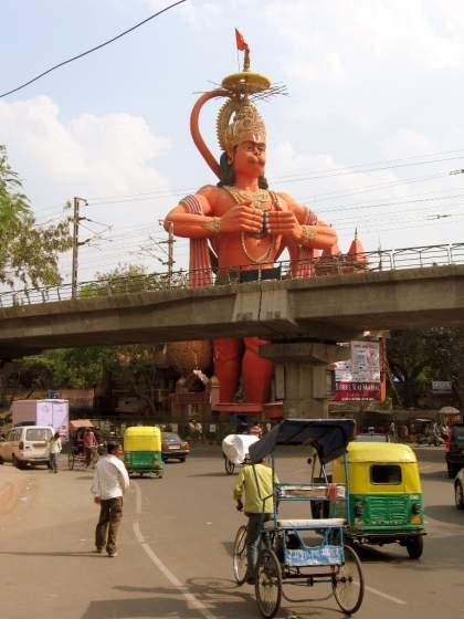 Estatua de Hanuman en Nueva Delhi 3