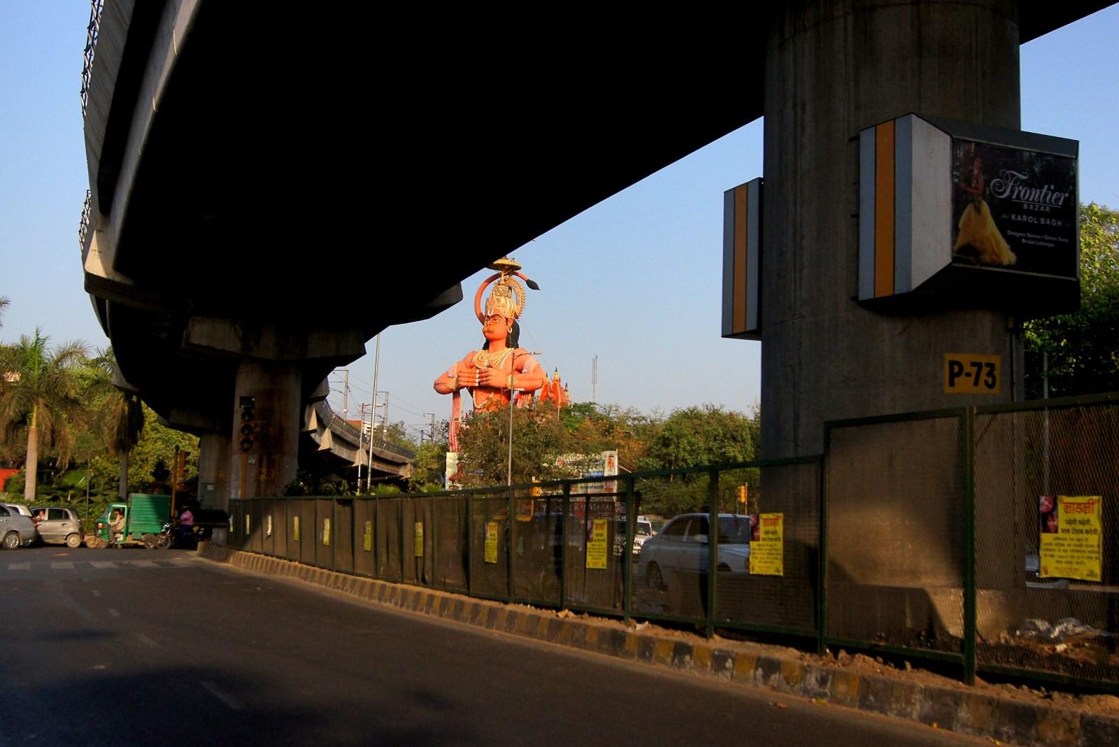 Estatua de Hanuman en Nueva Delhi 8