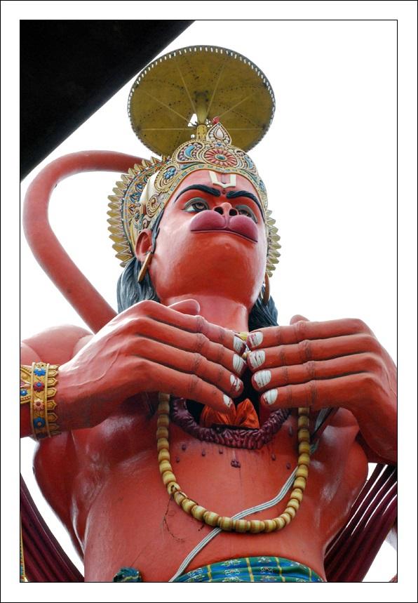 Estatua de Hanuman en Nueva Delhi 9