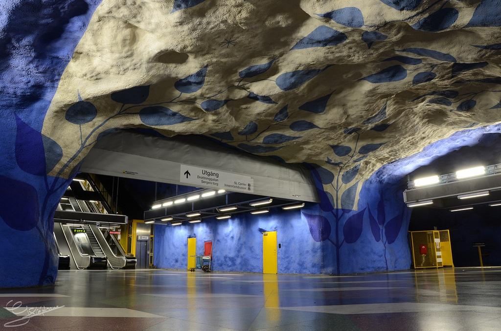 Metro de estocolmo megaconstrucciones extreme engineering - Metro de estocolmo ...