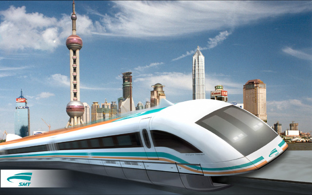 how to make a maglev train