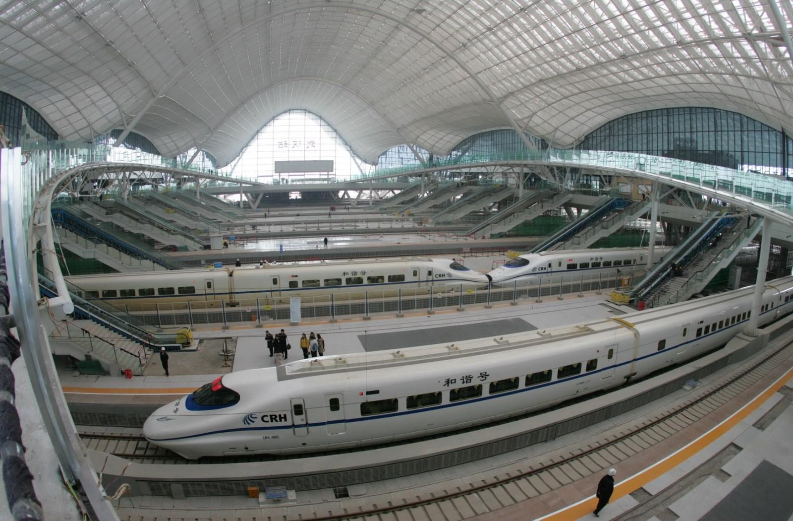 Estaci 243 N De Wuhan Megaconstrucciones Extreme Engineering
