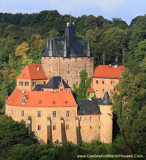 Castillo De Kriebstein Megaconstrucciones Extreme