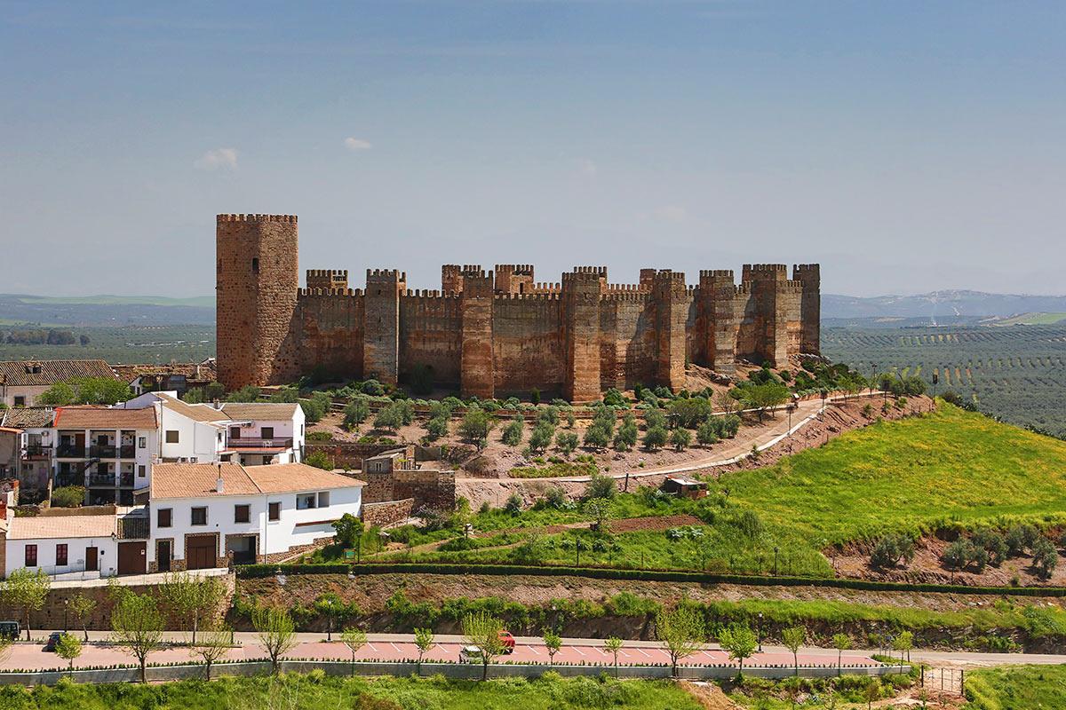 Castillo de burgalimar castillo de ba os de la encina megaconstrucciones extreme engineering - Banos de la encina espana ...