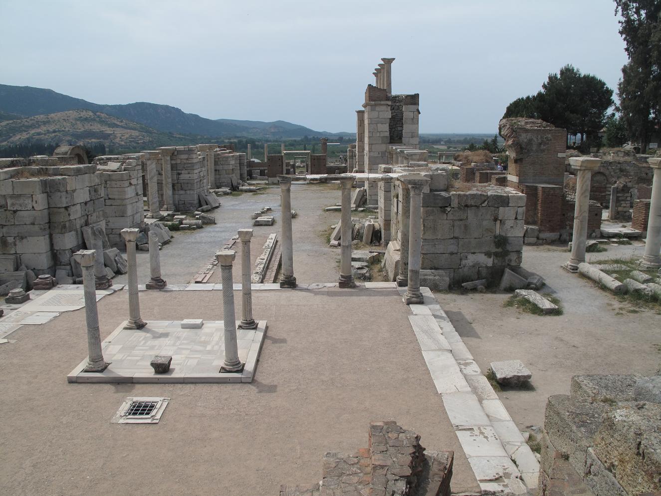 Basílica de San Juan. Éfeso 15