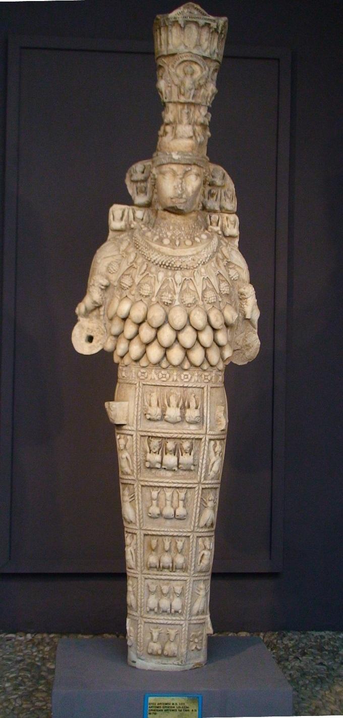 Estatua de Artemisa Siglo I. Museo Arqueológico de Éfeso 22