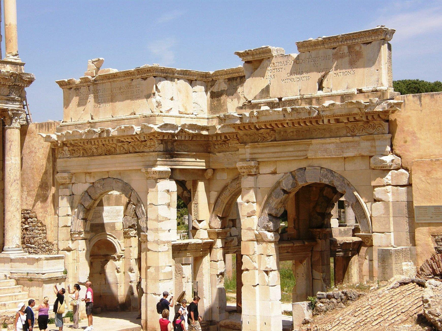 Puerta de Augusto. Éfeso 5