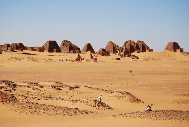 Pirámides de Meroe 9