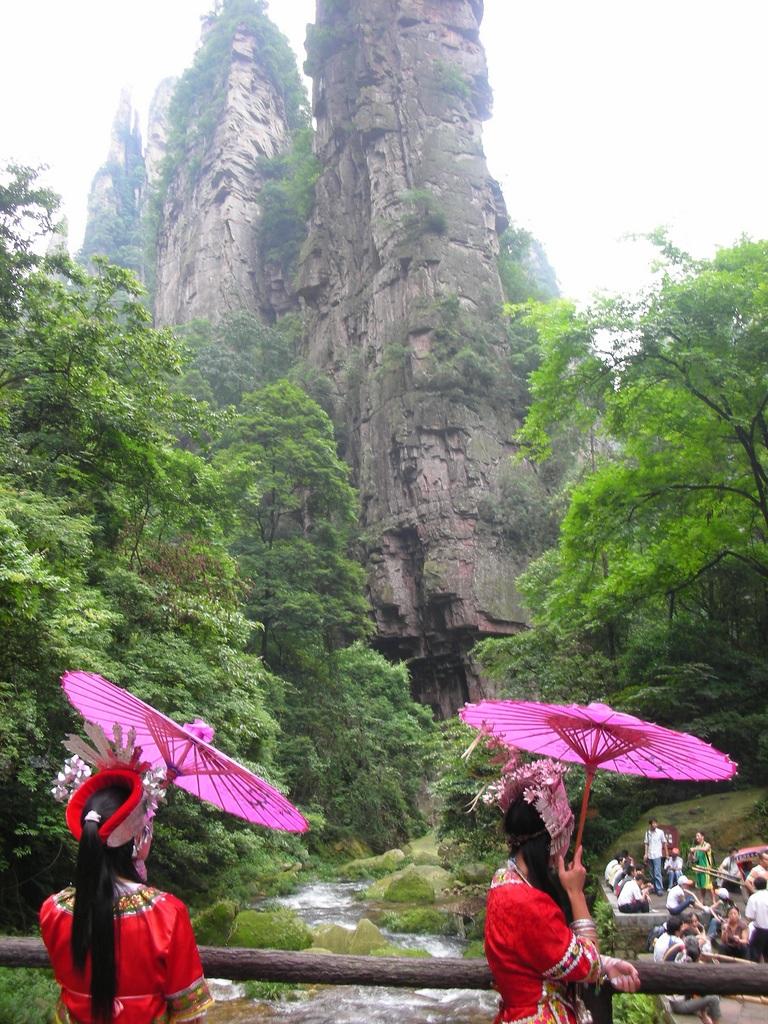 Wulingyuan, Parque Nacional del Bosque de Zhangjiajie