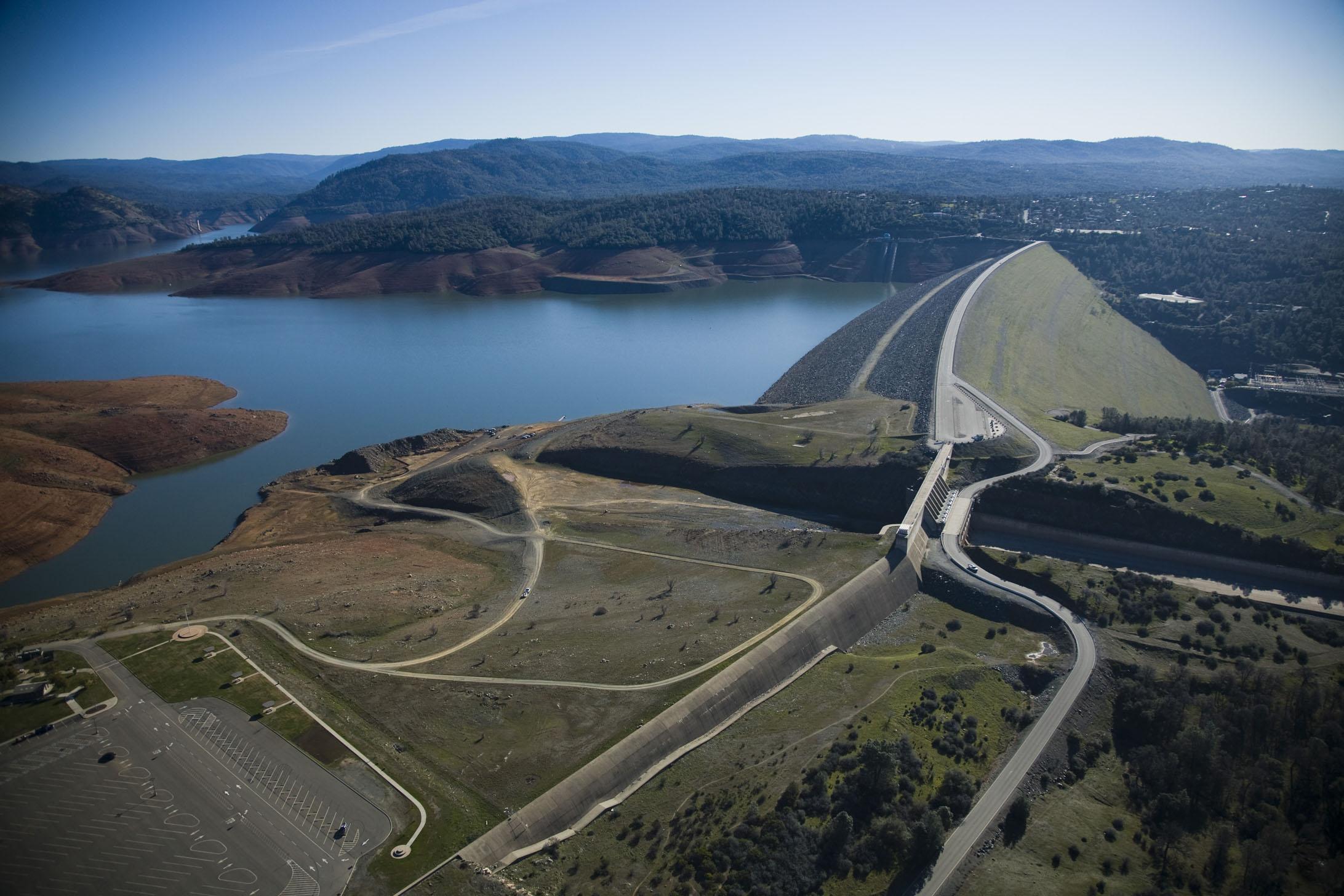 orville dam height