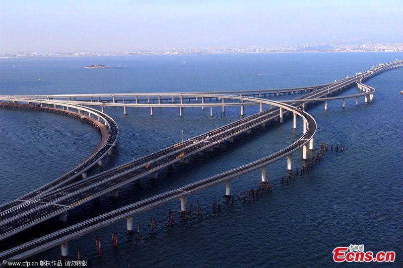 Puente De La Bah A De Jiaozhou Megaconstrucciones