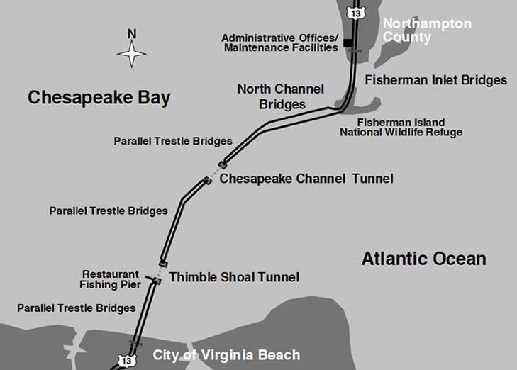 Puente-t U00fanel De La Bah U00eda De Chesapeake