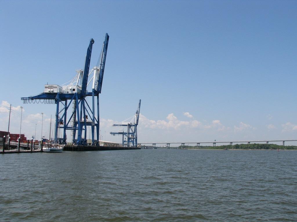 Puerto De Charleston Megaconstrucciones Extreme Engineering