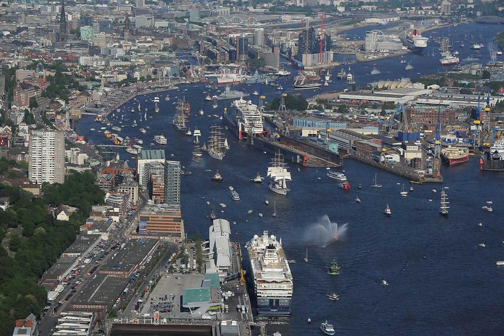 Resultado de imagen para puerto hamburgo